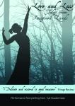 publicity flyer of dark figure in woods